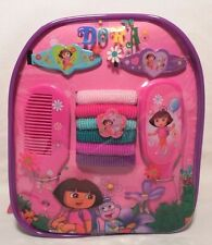 Dora the Explorer Accessory Hair Set NEW Backpack 11 pieces Gift Girls