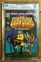 Marvel Super-Heroes #18 1st Appearance Guardians of The Galaxy 1969 CBCS 6.0