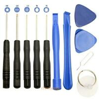 11 in 1 Cell Phones Opening Pry Repair Tools Kit Screwdrivers For iPhone Samsung