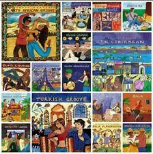 PUTUMAYO- COLECCIÓN 97 CDS DEL AÑO 1994 AL 2006.