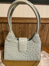 New listing Vintage Genuine Ostrich leather handbag