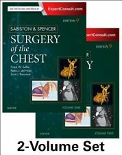 Sabiston and Spencer Surgery of the Chest : 2-Volume Set 9th edition 2016