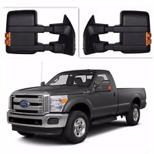 FIt  Ford F250-F550 99-07 Super Duty Towing  Mirrors Power Heated Turn Signal