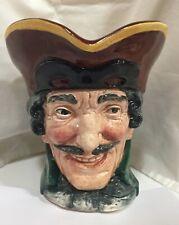 "1949-1955 Royal Doulton ""Toby� Character Jug ""Dick Turpin� #D5485 Large 6-1/2�"