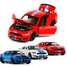 Ford Mustang Shelby GT350 1:32 Model Car Diecast Gift Toy Vehicle Kids Pull Back