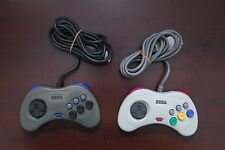 Sega Saturn SS Japan Official White & Gray Great condition Controllers US Seller