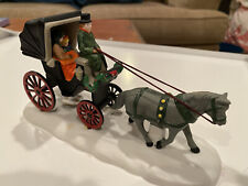 """Dept 56 Christmas in the City """" Central Park Carriage """" 1989  #59790"""