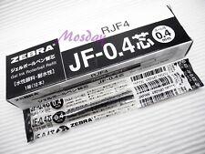 10 x Zebra SARASA Retractable RollerBall Pen Refills 0.4mm Ultra Fine, BLACK
