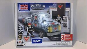 NEW Mega Bloks World Builders Canadian Tire Ice Truck 486 Pcs 97896 Set Rare