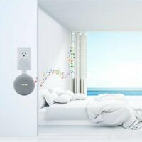 Wall Mount Holder For Google Home Mini With Cord Arrangement Hidden Wires F