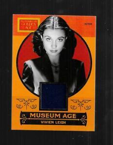 Golden Age 2014 Panini Museum Age Memorabilla Material card Vivien Leigh