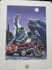 Desert Encounter - Graham Nolan - Incredible Hulk - Signed + Numbered Print