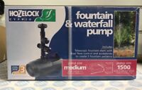 Hozelock Cascade Fountain and Waterfall Pump 1500