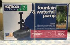 Hozelock Cascade Fountain and Waterfall Pump 1500