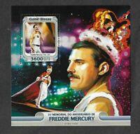 Freddie Mercury-Queen postage stamp sheet-limited print 1000-Rock music