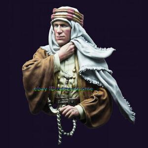 NEW Unassambled 1/10 Ancient Arab man bust Garage Kits (WITH BASE ) figure Model