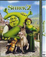 1 DVD FILM CARTOON DREAMWORKS MOVIE,SHREK 2 gatto con gli stivali,ciuchino,fiona