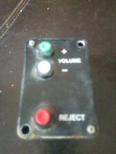 NSM Volume Control, Performer Grand, Firebird, Country, Working Condition