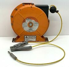 Hubbell ALS30-YCC Static Discharge Reel, 30ft Cable