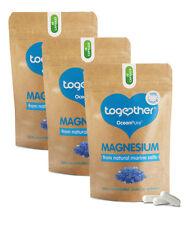 Naturel Magnésium 90 Capsules - Together Santé Végétarien Végétalien 3 Mois