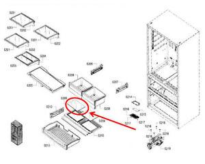OEM Bosch 774905 00774905 Refrigerator Shelf