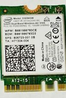 HP Envy 17-s043cl Wireless Bluetooth Card 806723-001 3165NGW