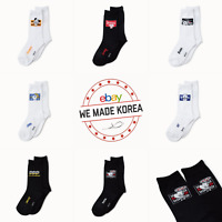 BT21 Character Mid Socks Bite Collection 7types Official K-POP Authentic Goods