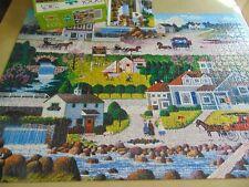 "Charles Wysocki ""Crickethawk Hollow"" Jigsaw Puzzle 1000 Pc Complete"