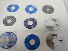 Big Lot Of Dell Repair CD's For Dell Computers, Reinstalling, Sound Blaster, +++