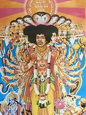 Jimi Hendrix Vintage Poster Axis Bold As Love Original Psychedelic Pin-up Trippy