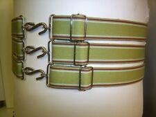 Extra Heavy Duty Snake Belts Beige & Burgundy Stripe 30 T0 62 Waist 32ml wide