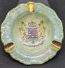 Vintage Luxembourg Souvenir Ashtray Ceramic