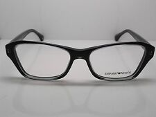 17565a3d04 Nuevo Emporio Armani cada 3032 5220 Transparente Gris-Negro 54mm Rx  Eyeglasses