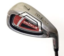 WILSON HIGH MOI PROFILE 431SS #7 IRON Golf Club Cavity Back Red Steel 431 Great