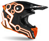 Casco moto cross Airoh Twist 2.0 Neon arancione S orange helmet casque offroad