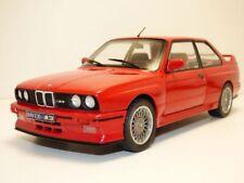 BMW M3 E30 rouge 1986 1/18  serie 3er