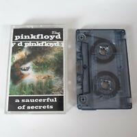 PINK FLOYD A SAUCERFUL OF SECRETS CASSETTE TAPE EMI FAME UK 1986