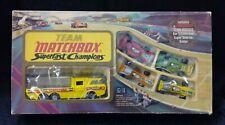 1973 Lesney Team Matchbox Super Fast Champions G-4 Incomplete