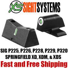 XS Sights DXT Tritium Dot -Springfield XD XDm XDs & SIG P225 P226 P228 P229 P320