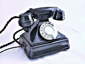 GPO KING  PYRAMID telephone  1930/50's, immaculate full restoration, superb