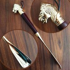32cm Shoe Lifter Luxury Lion's Head Copper Shoe Horn, Shoespooner,festival gift