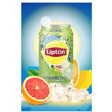 (1,77 €/L) Lipton Sparkling Ice Tea Citrus 24x 0,33L Dose