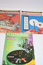Vintage Set 3 1950's Radio-Electronics/Electro nics World Magazines