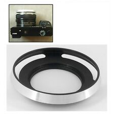 Silver 40.5 Vented Lens Hood As LH-S1650 for Sony E PZ 16-50 f/3.5-5.6 SELP1650
