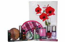 12pc Clinique Sally Hansen & NYC Makeup & Skin Set inc Lipstick Mascara Varnish