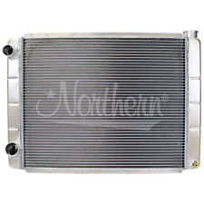 """209625 Northern 2-Row Aluminum Race Pro Radiator Ford 28"""" x 19"""" Left Double Pass"""