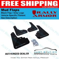 Rally Armor for 13-17 Subaru XV Crosstrek Black Mud Flap w/ Grey Logo