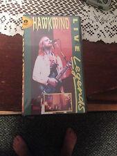 Hawkwind Live Legends Video  Brand New  Still Sealed