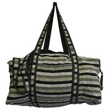 Nepal Travel Bag - Mountain Granite Colour, Wool Material, two external pockets
