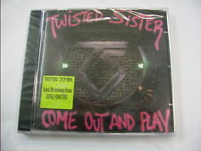 TWISTED SISTER - COME OUT AND PLAY - CD SIGILLATO REMASTERED